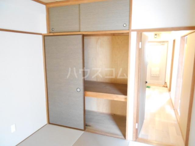 清水ハイツA 206号室の収納