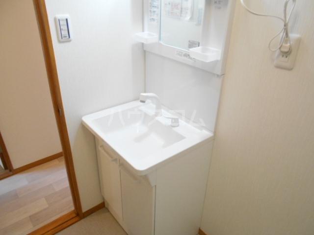 清水ハイツA 206号室の洗面所