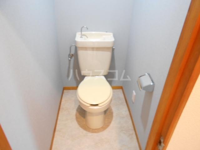 清水ハイツA 206号室のトイレ