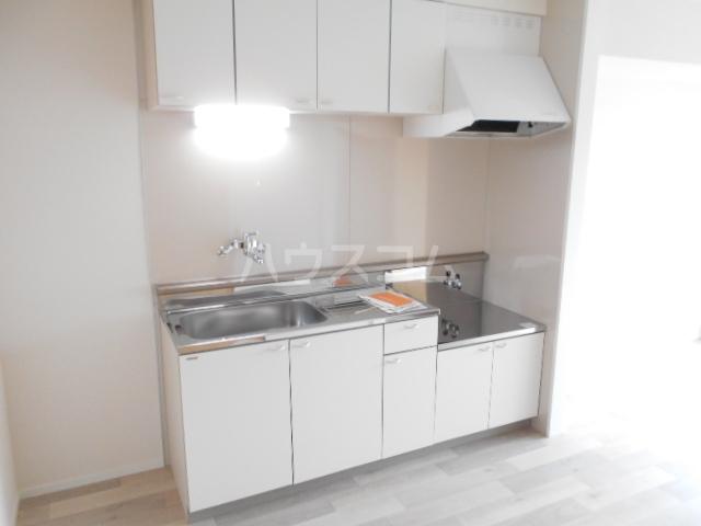 清水ハイツA 206号室のキッチン
