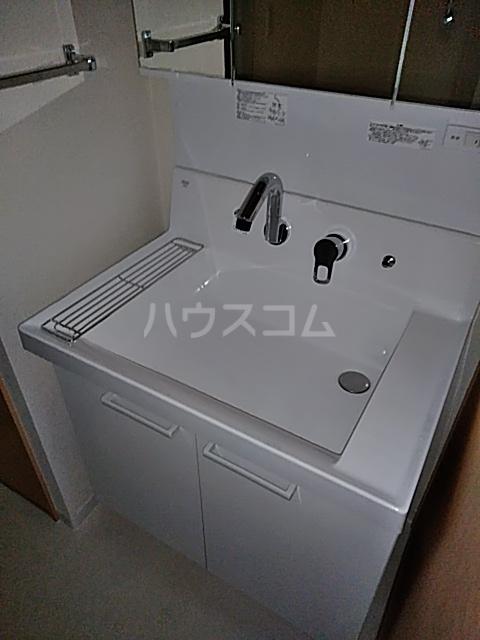 シティコート目黒 4号棟 914号室の洗面所