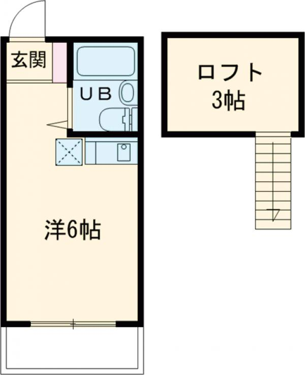 城西プラザ田無・203号室の間取り