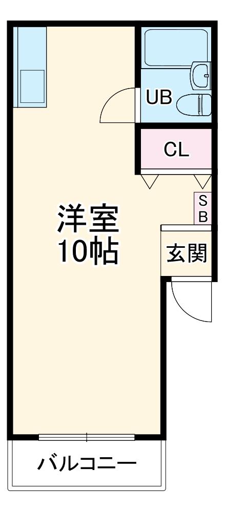 コートダルジャンⅢ・301号室の間取り