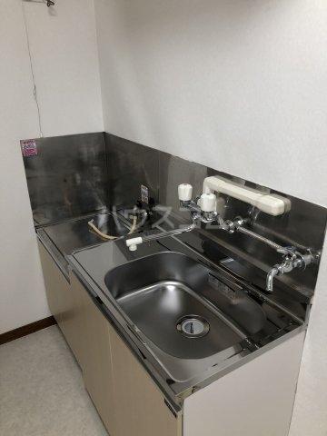 富士見荘 新館 202号室のキッチン