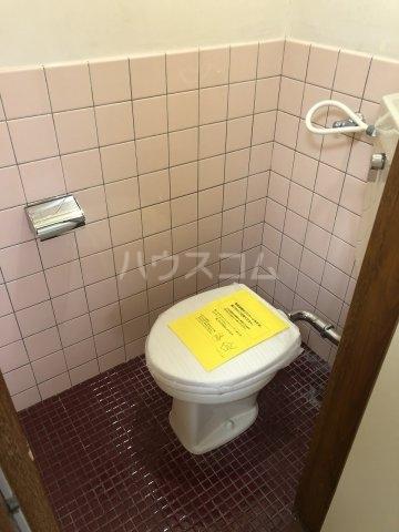 富士見荘 新館 202号室のトイレ