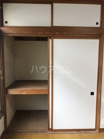 富士見荘 新館 202号室の収納