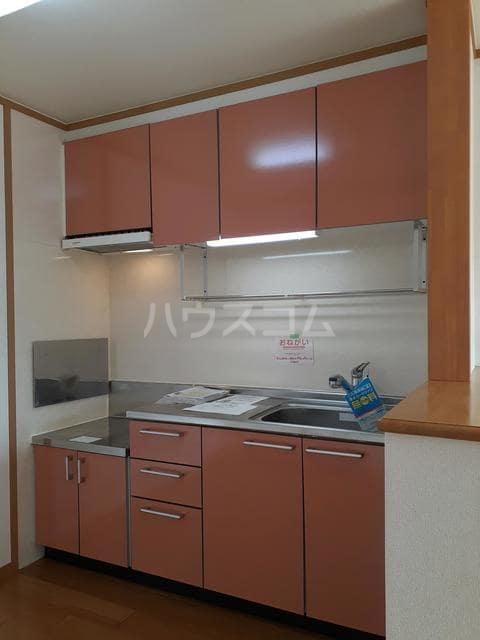 おひさま館A 02010号室のキッチン