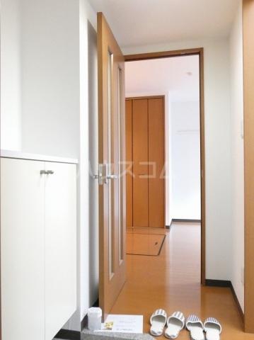 ルネス ディアコート 202号室の玄関