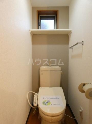 ルネス ディアコート 202号室のトイレ
