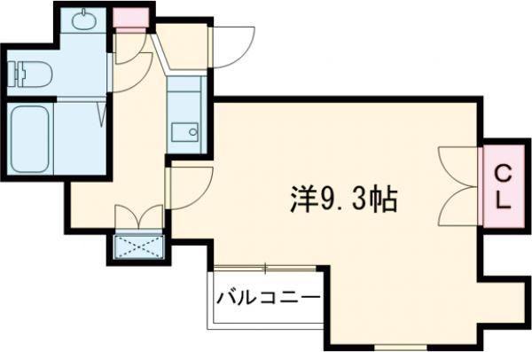 ZELKOVA RESIDENCE・504号室の間取り