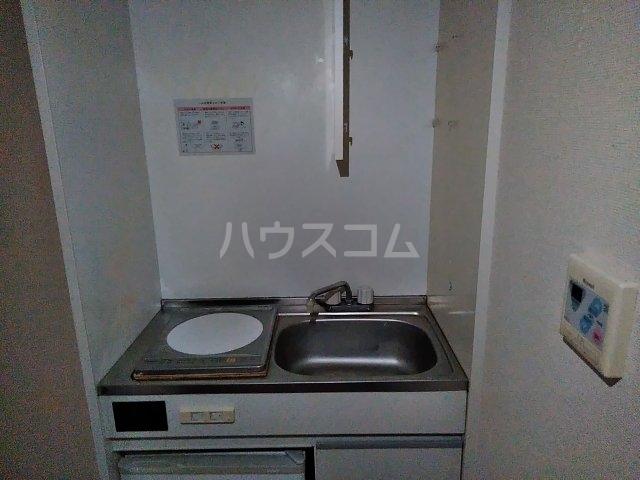 小美玉メゾンオークラ E棟 202号室のキッチン