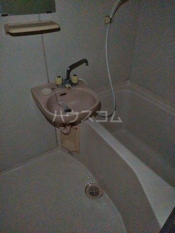 小美玉メゾンオークラ E棟 202号室の風呂