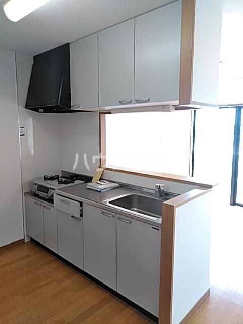 エルミタージュ 401号室のキッチン