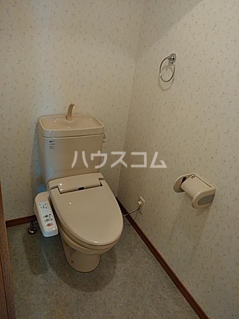 エルミタージュ 401号室のトイレ
