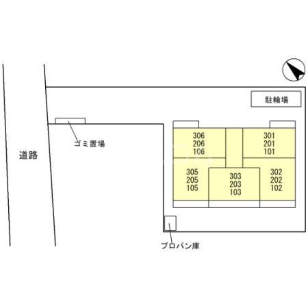(仮)D-room岸町 103号室のその他