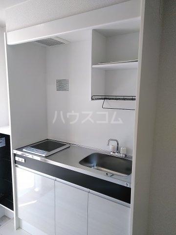 キュステ 101号室のキッチン