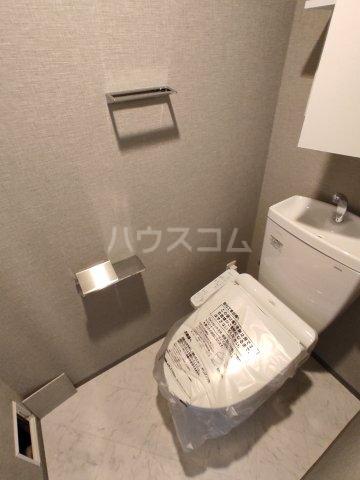 ブランシエスタ糀谷 201号室のトイレ
