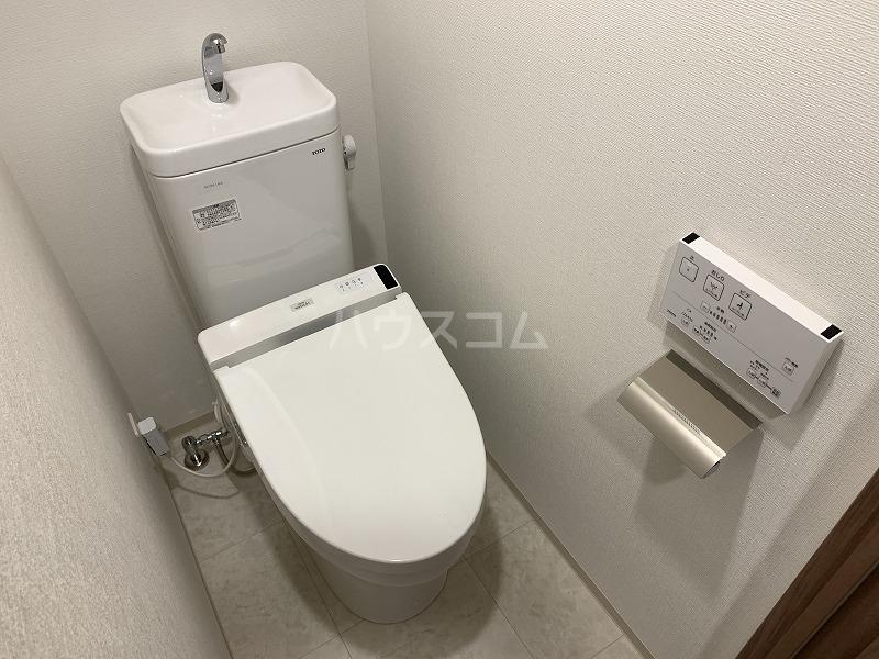ガーラ・グランディ武蔵小杉 107号室のトイレ