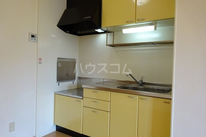 グランパパⅢ 202号室のキッチン