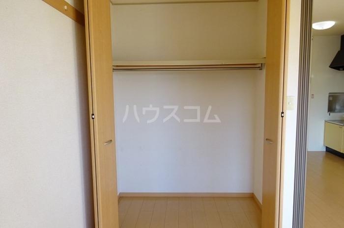 グランパパⅢ 202号室の収納