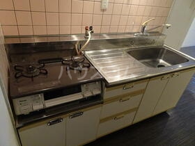 オーク岸和田 202号室のキッチン