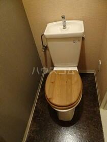 オーク岸和田 202号室のトイレ