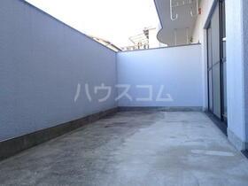 オーク岸和田 202号室のバルコニー