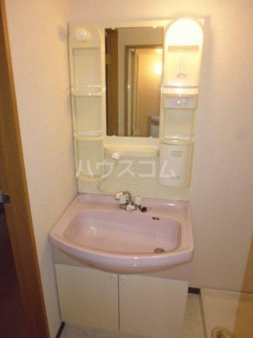 アンブラッセ 202号室の洗面所