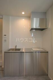 ザ等々力アジト 2D号室のキッチン