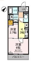 (仮)D-room上木崎6丁目・302号室の間取り