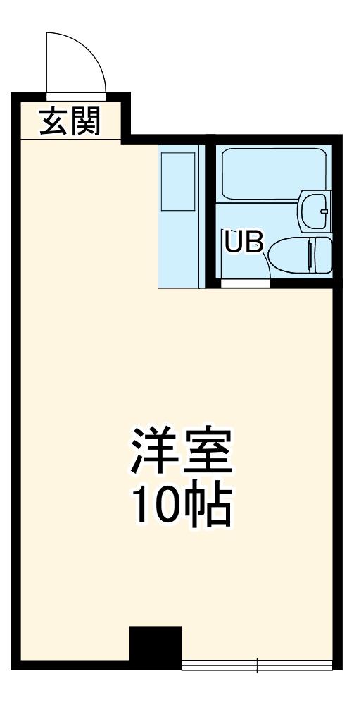 コスモAOI蒔田・203号室の間取り