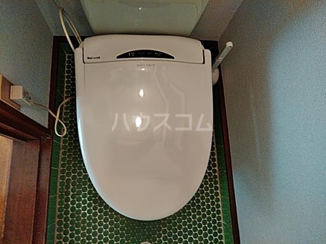 山ノ内北ノ口町貸家のトイレ
