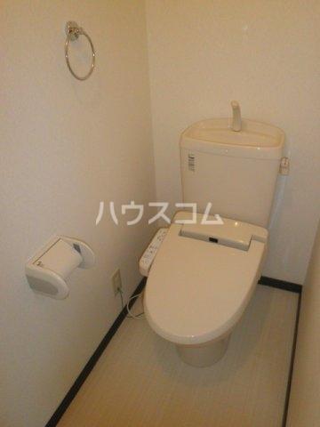 メゾントレゾアのトイレ
