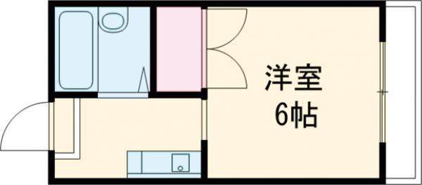 ジュネス昭島・301号室の間取り