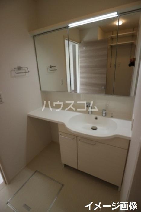 スカイヒル枚方B棟 102号室の洗面所
