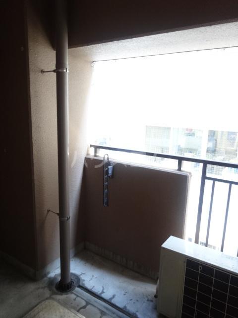コラール158 401号室のバルコニー