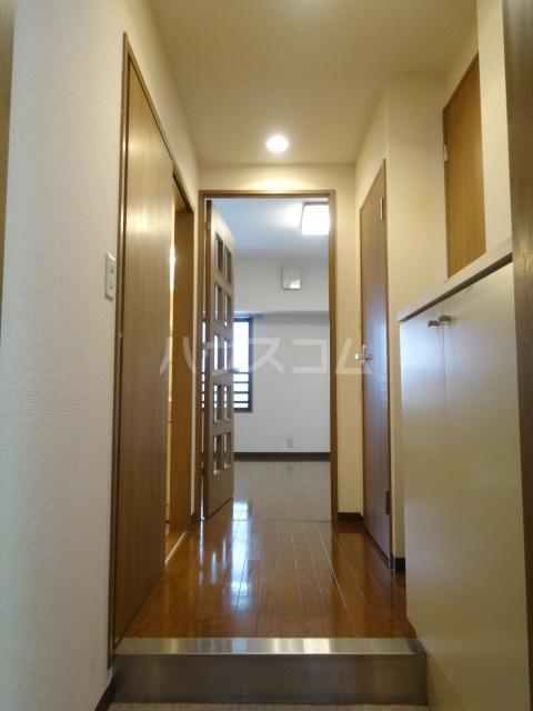 コラール158 401号室の玄関