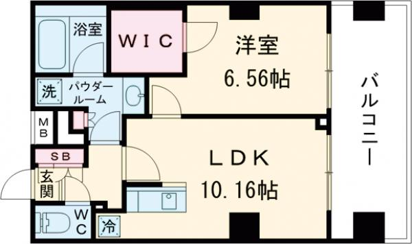 コンフォリア西荻窪・1103号室の間取り
