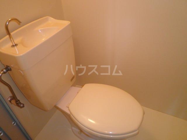 池上コーポ 101号室のトイレ
