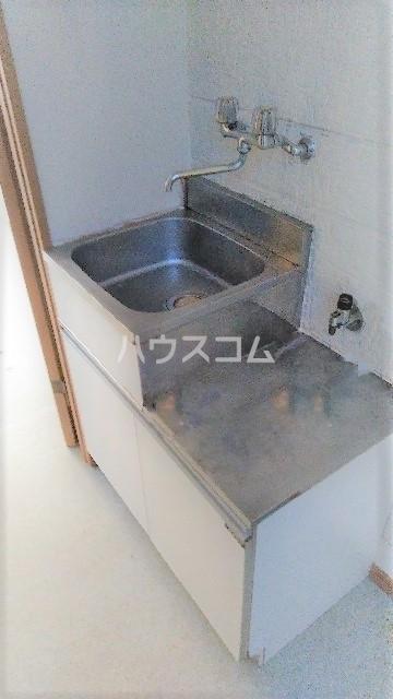フラワーコーポⅡ 203号室のキッチン