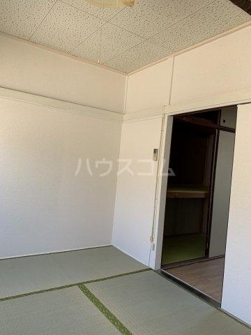 永友荘 202号室のキッチン