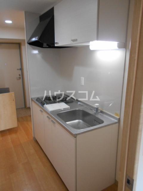 クオリカ太秦 306号室のキッチン