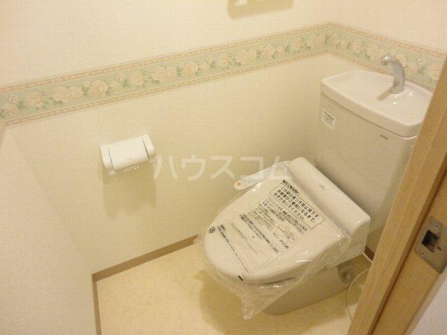 クオリカ太秦 306号室のトイレ