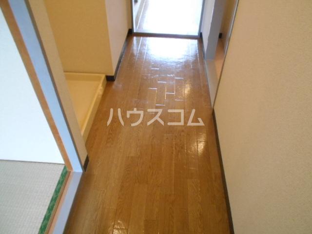 グレースコート御室 202号室の玄関