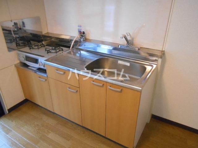 グレースコート御室 202号室のキッチン