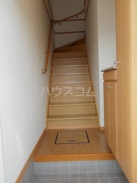サンクレストⅡ 02030号室の玄関