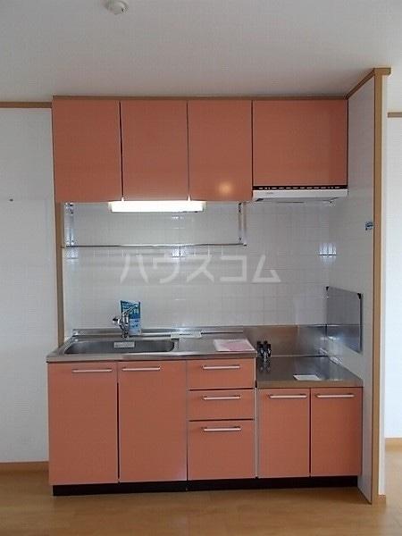 サンクレストⅡ 02030号室のキッチン