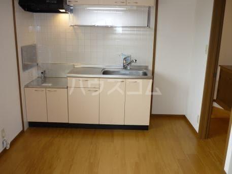 ソレアード B 02020号室のキッチン