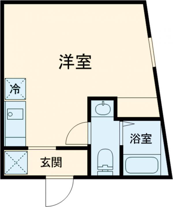(仮称)赤塚2丁目新・101号室の間取り
