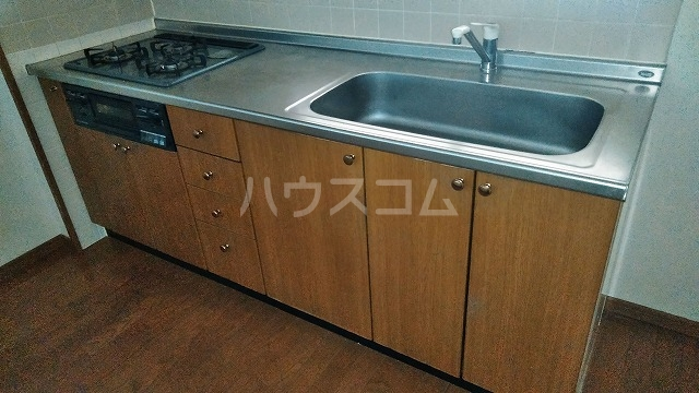 グランドコート鴻の巣 305号室のキッチン